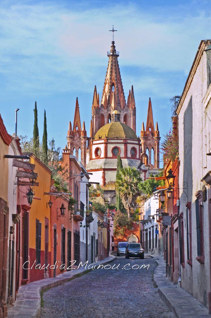 Aldama Street in San Miguel de Allende, Mexico. | Favorite ...