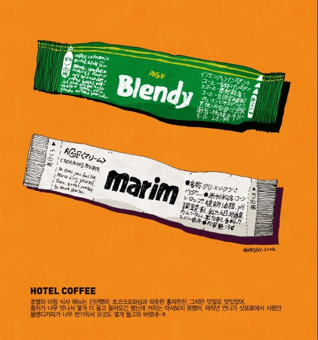 Blendy, Marim