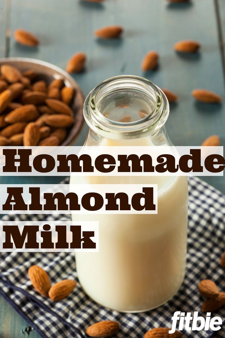 How to Make Your Own Almond Milk | Homemade, Almonds and Milk