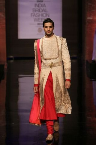 JJ Valaya. India Bridal Fashion Week 2014