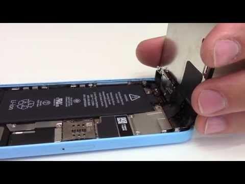 Tuto : Changer ecran complet iPhone 5C - YouTube