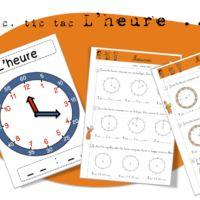 Maths-Les mesures - L'heure