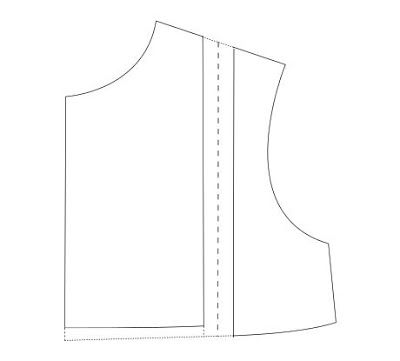 Om ruffles aan een patroontje toe te voegen, gebruikte ik al meerdere keren deze techniek.    Teken je patroon over op patroonpapier. Teke...