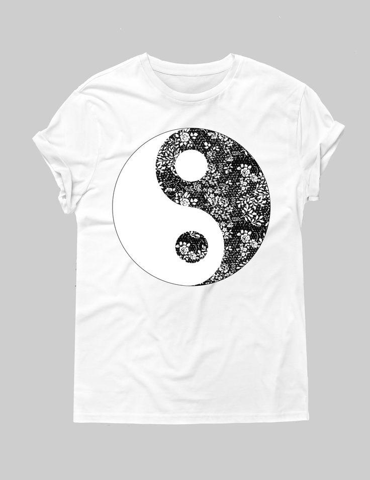 Ying And Yang tee – Hipster Tops