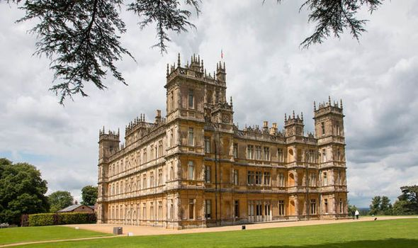 Highclere Castle booked out for Downton Abbey FILM in 2018 | TV & Radio | Showbiz & TV | Express.co.uk