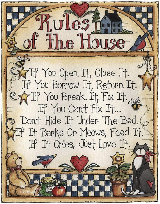 house rules clipart - photo #32