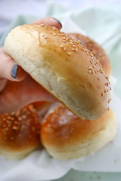 Recette n°188 : Delicious buns à hamburger