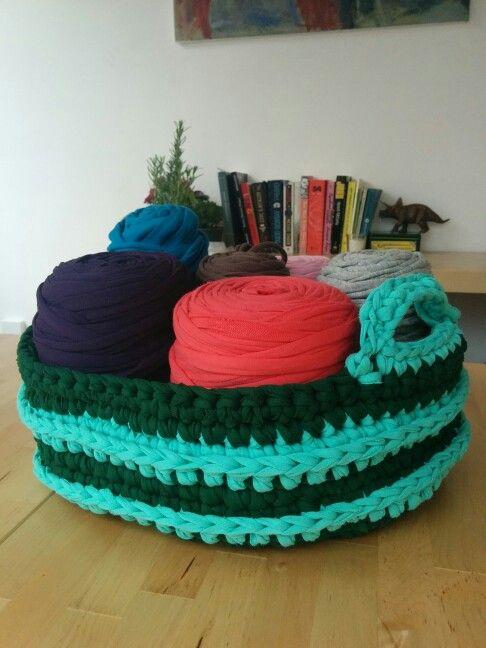 Forest lake basket