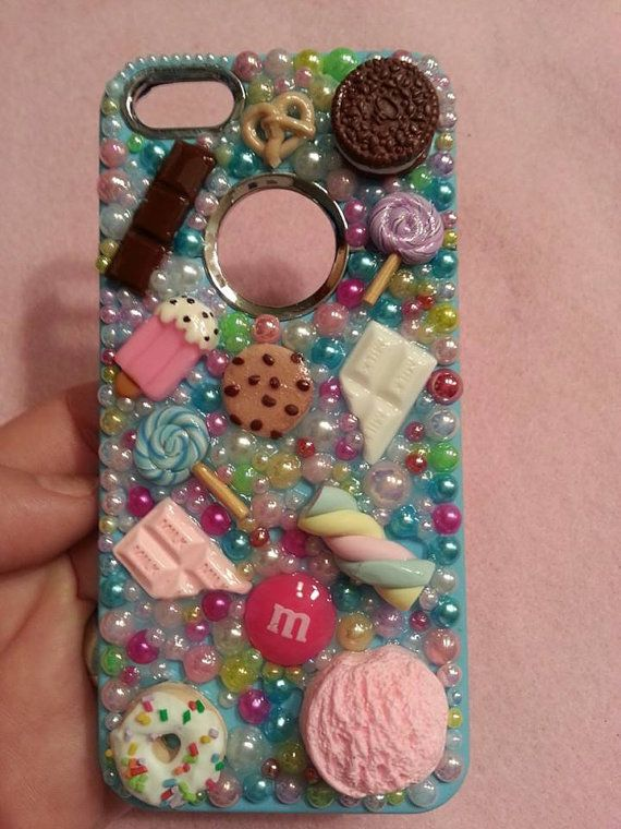 Candyland bling glam iphone 5 cellphone case by blingglamcreations, $33.00