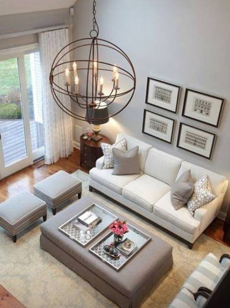 like the colour palette, and the calm feel of this room;  also like the light fitting....