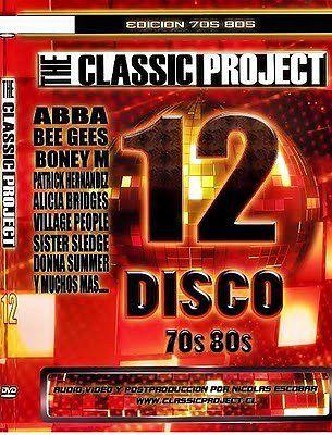 descarga ONDA DISCO 70′ 80′ - The Classic Project VOL 12 ~ Descargar pack remix de musica gratis | La Maleta DJ gratis online
