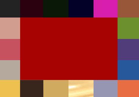 vermelho Fonte: Oficina de Estilo