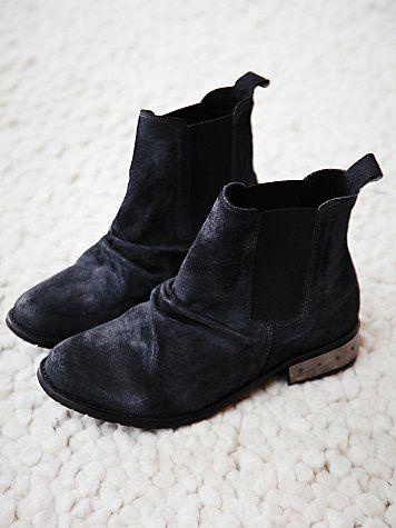Free People Mota Metal Ankle Boot