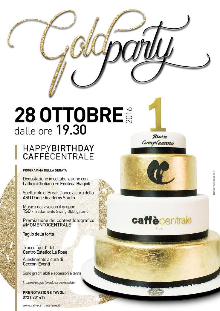 L'evento per festeggiare il primo compleanno della nuova gestione del Caffè Centrale di #Fano #Zarricomunicazione #eventi #Marche
