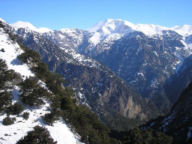 Crete. White Mountains. January. Wonderful!