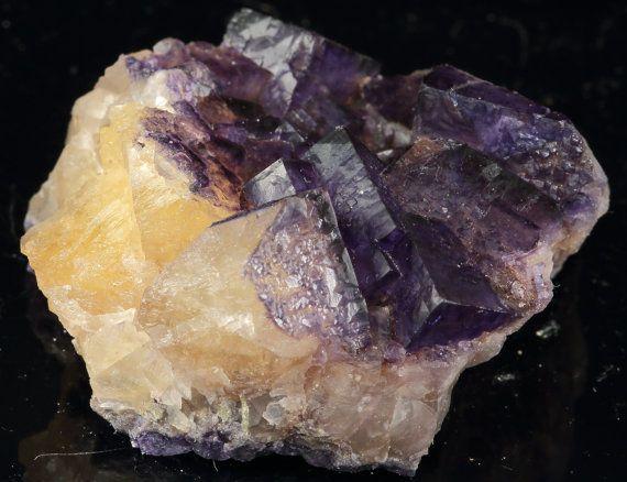 Multi-Colored Cubic Fluorite- Cave-In-Rock