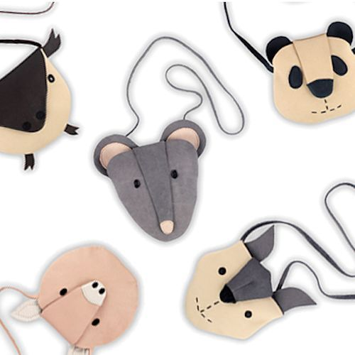 For all those party animals! Donsje (know for their cute babybooties) have created the sweetest bags!: