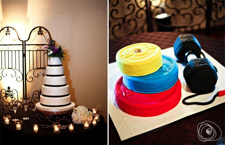 crossfit groom's cake!