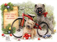 Cairn Terrier Xmas Cards