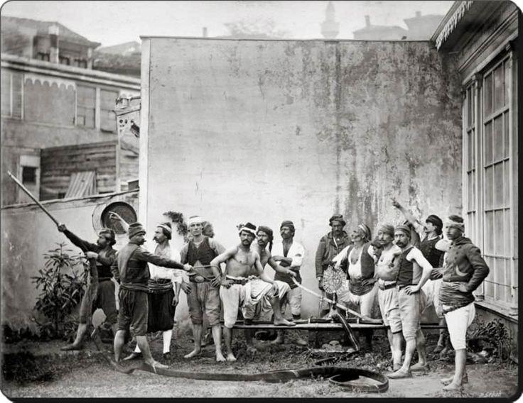 Tulumbacı teşkilatı mensupları (İtfaiyeci) - 1870