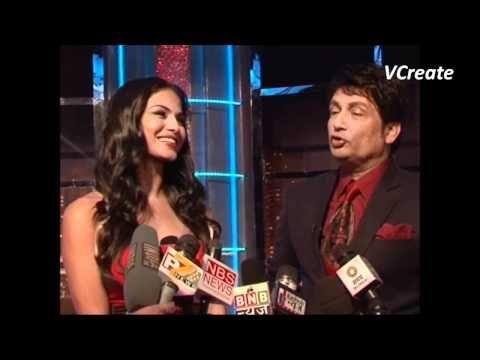 Veena Malik asks Shekhar Suman a FUNNY SECRET.
