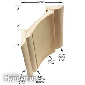 This three-piece crown molding technique simplifies installation and the results are spectacular.