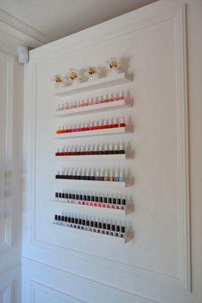 les 25 meilleures id es de la cat gorie institut de beaut sur pinterest beaut ongles en. Black Bedroom Furniture Sets. Home Design Ideas