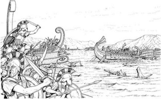 Persian Wars - Battle of Salamis: Battle of Salamis