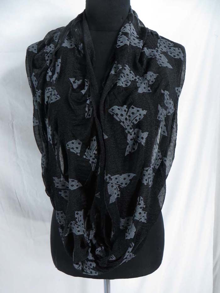 butterfly infinity scarf Womens Scarves & Wraps $3.45 - http://www.wholesalesarong.com/blog/butterfly-infinity-scarf-womens-scarves-wraps-3-45/