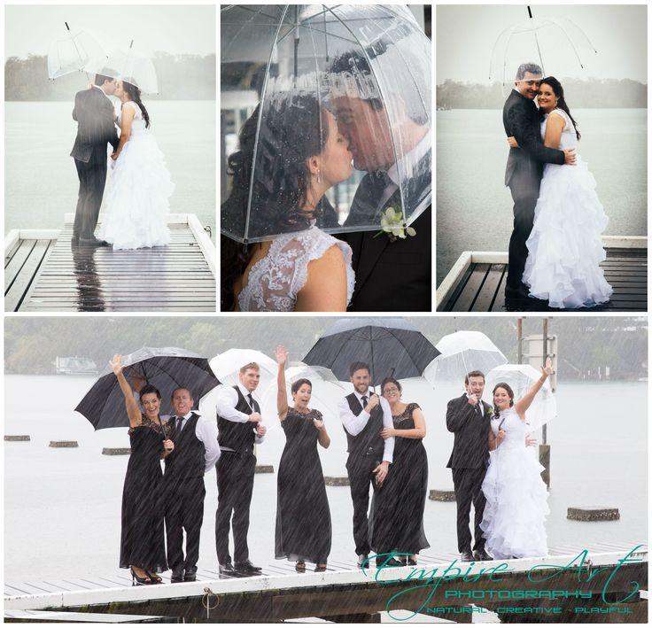 Sunshine coast photographers. The river deck noosa. Rainy day wedding ideas.