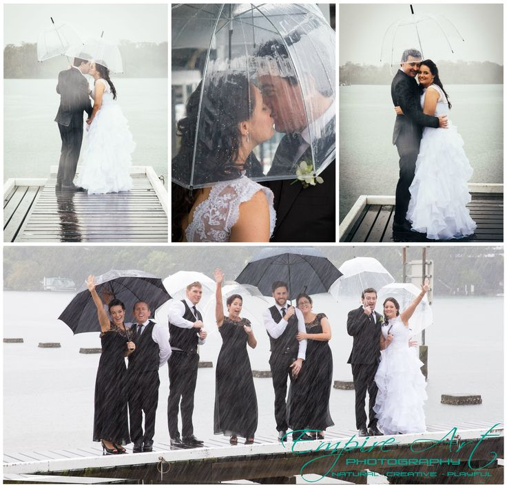 Sunshine coast photographers. The river deck noosa. Rainy day wedding ideas.