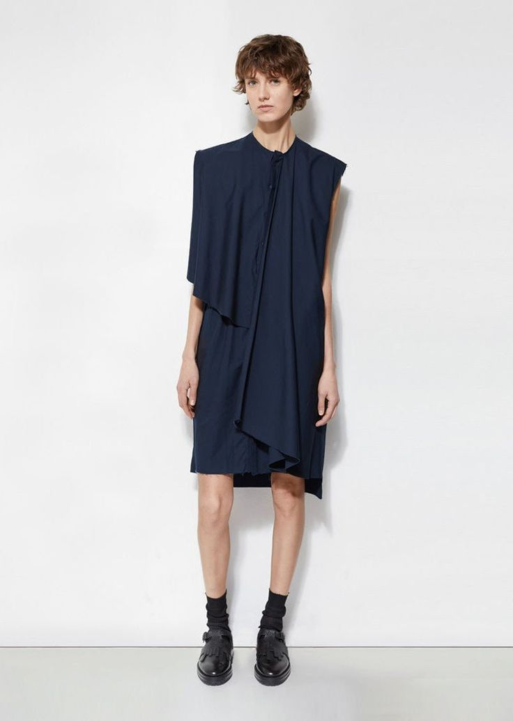 Sleeveless Shirtdress by Phoebe English - La GarÁonne – La Garçonne