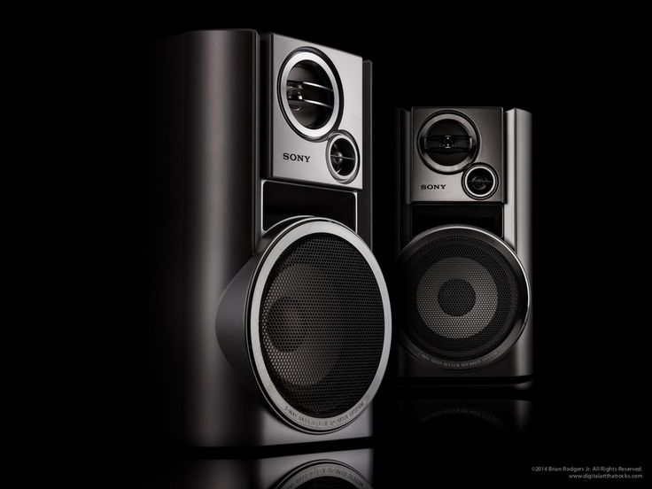 Sony Speakers Hero Shot by Brian Rodgers Jr. by Brian Rodgers Jr. on 500px