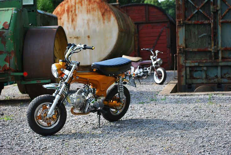 Gunther's Honda Dax before II by Sen007 on deviantART
