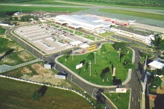 Aeroporto Internacional Marechal Cunha Machado 2 550x365 Fotos do Aeroporto Internacional Marechal Cunha Machado   São Luis