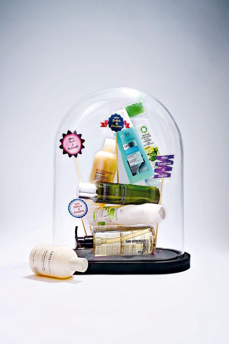 """Immer mehr Shampoos verzichten auf künstliche Zusätze. Wie wichtig ist die """"Schadstoffreduktion""""? Wir haben die Expertin gefragt. Über Zusatzstoffe in Shampoos und Alternativen"""