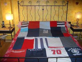 In pigiama: Come fare una trapunta dei ricordi/The momories' patchwork