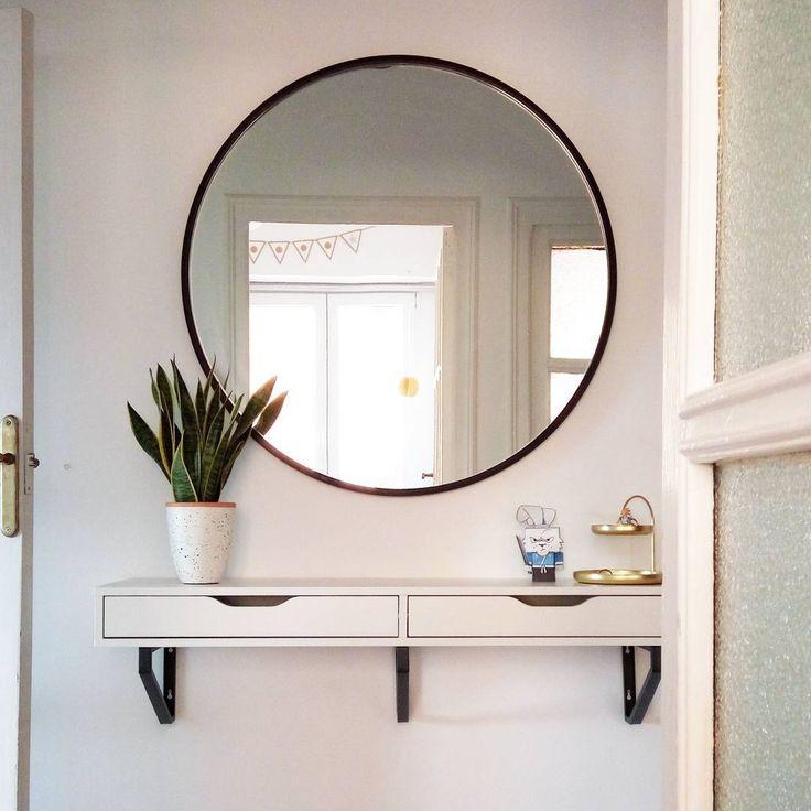 117 best espejo redondo images on pinterest amy dorm for Espejo circular