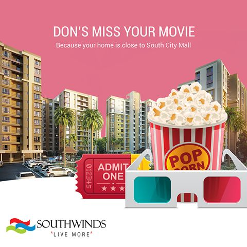 #shopping #movie and more #fun is in the vicinity if you live at #southwinds #kolkata.  Perfect #residences #located in a perfect #location