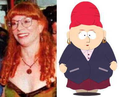 Mary Kay Bergman [as Sheila Broflovski] - South Park