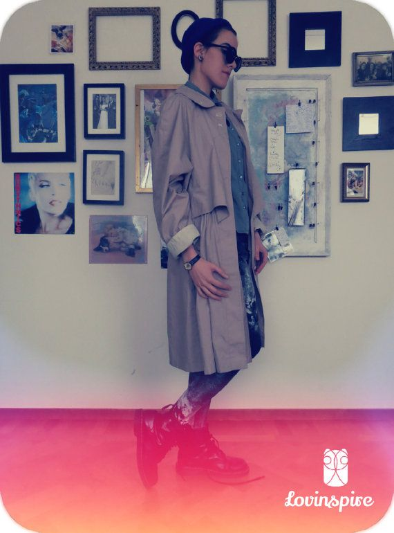 The hipster coat.  Lovinspire handpicked 80s vintage.