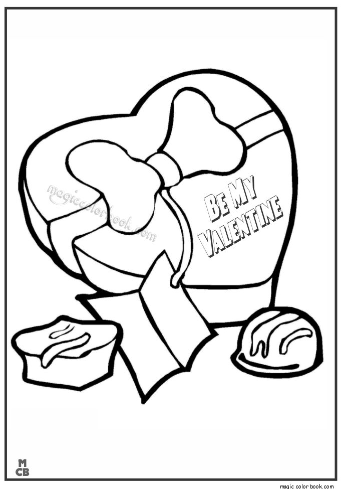36 besten Valentine\'s Day Coloring pages Bilder auf Pinterest ...