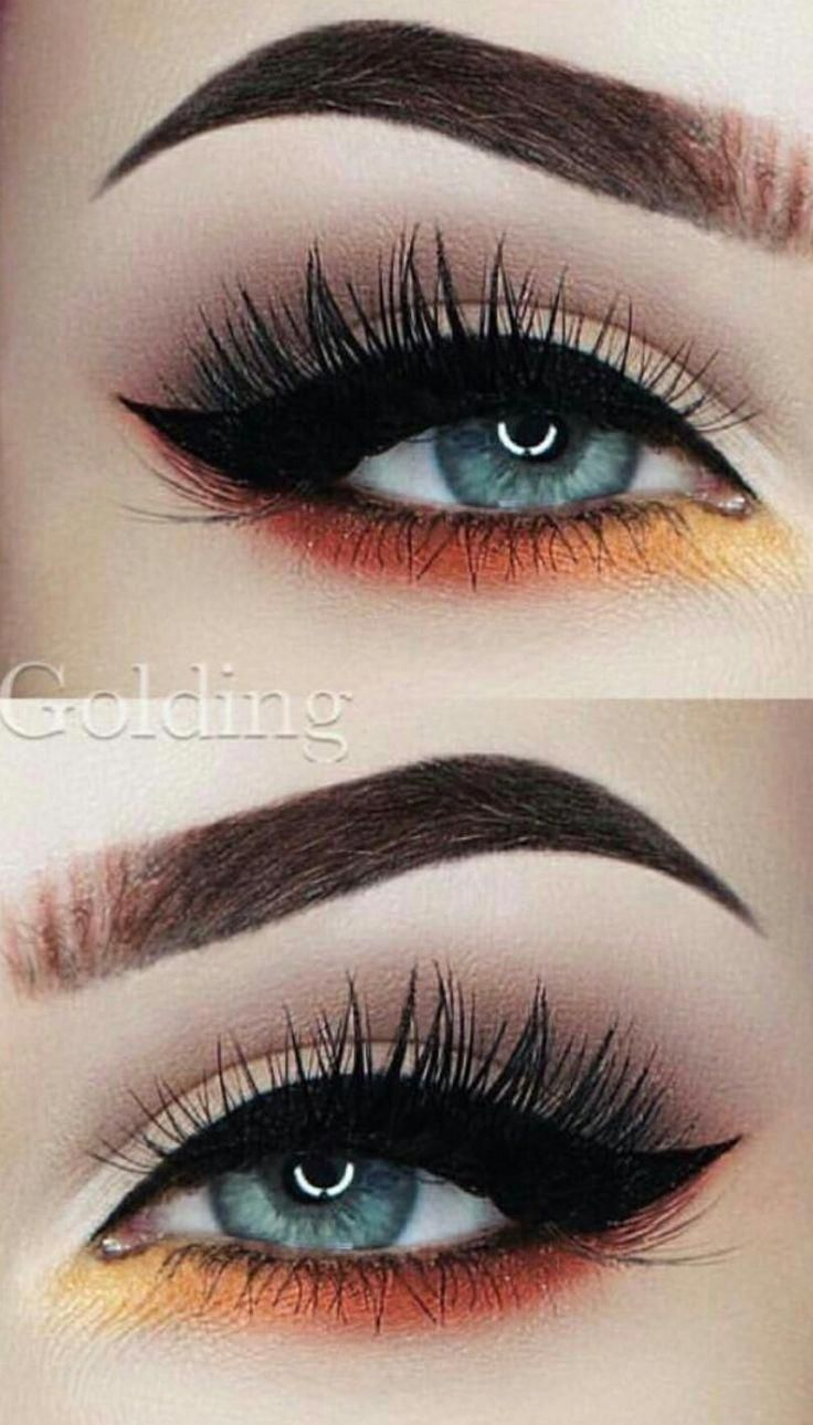 This Is A Really Pretty And Simple Eyebrows Concept Make Up Lieferungen Concept Eyebrows Lieferungen Pr Blue Eye Makeup Eye Makeup Eyeshadow Makeup