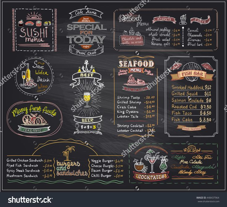 17 best ideas about blackboard menu on pinterest us for Blackboard design ideas