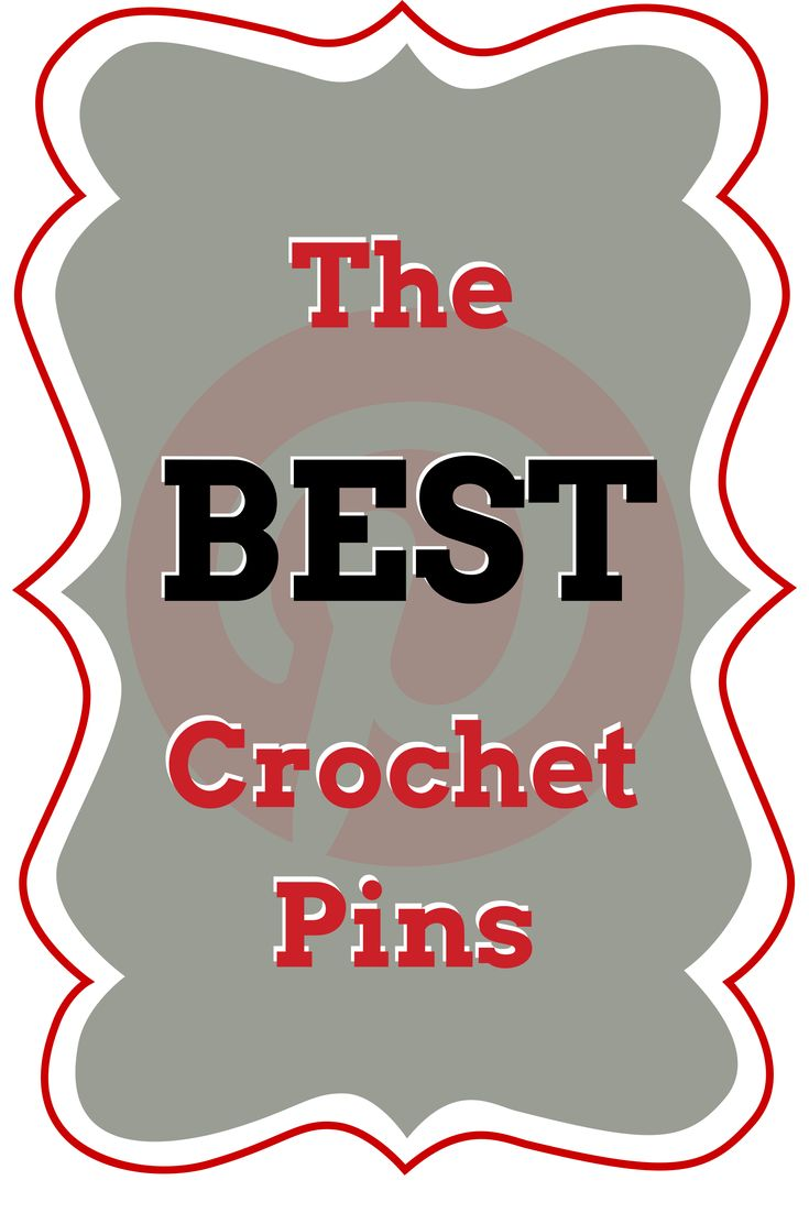 5 New Pins Every Friday, with a new theme every week. The best of the best crochet links, tutorials & patterns. (Curated by I love, Therefore I Craft)
