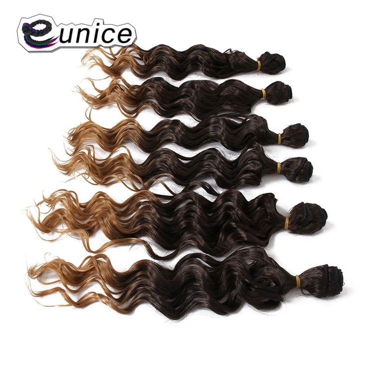 21 Best Deep Wave Synthetic Hair Extension Images On Pinterest