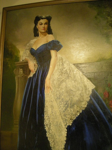 Painting of Scarlet that was featured in the Movie Gone with the Wind by Discover Atlanta, via Flickr