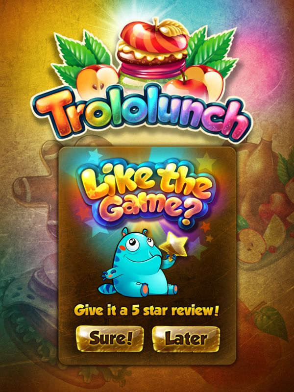 Trololunch by Anastasia Kudriavtseva, via Behance