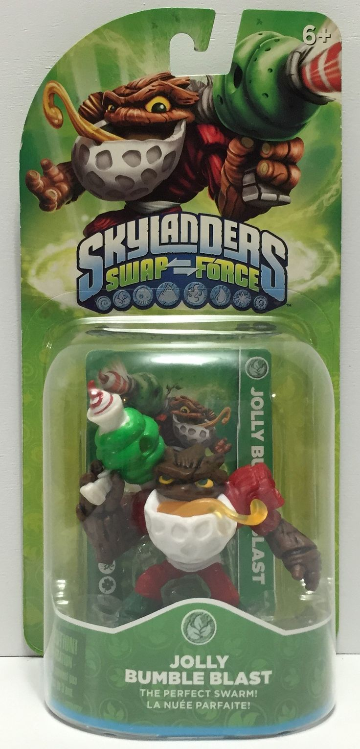 The Angry Spider has the best toys: TAS037431 - 2013 ...  Take a look: http://theangryspider.com/products/tas037431-2013-activision-skylanders-swap-force-jolly-bumble-blast?utm_campaign=social_autopilot&utm_source=pin&utm_medium=pin