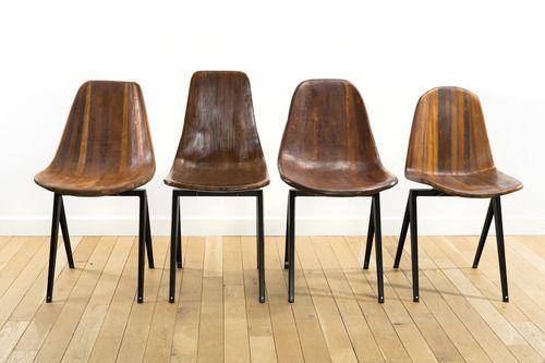 Les chaises Kiti Makasi / Designer: Sandrine Ébène de Zorzi (http://ebenesand.wix.com/ebenesand)